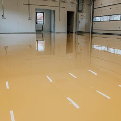 Large industrial epoxy floors